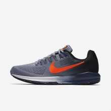 Nike Air Zoom Running Shoes Mens Dark Sky Blue/Black/Navy/Total Crimson 904695-406