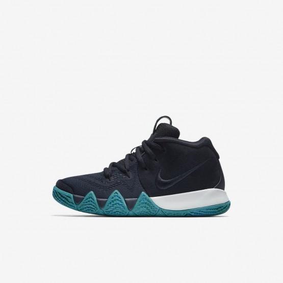 Zapatillas Baloncesto Nike Kyrie 4 Niña Obsidian Oscuro/Negras AA2898-401
