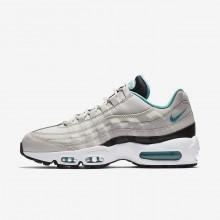 Nike Air Max 95 Essential Casual Schoenen Heren Licht/Zwart/Wit/Turquoise 749766-027