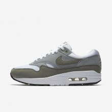 Nike Air Max 1 Lifestyle Shoes Womens White/Light Pumice/Black/Dark Stucco 319986-105