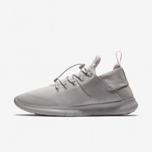 Nike Free RN Commuter 2017 DX Running Shoes Womens Vast Grey/Arctic Pink AH8676-001