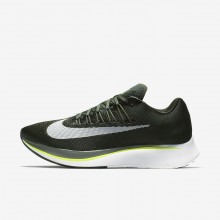 Nike Zoom Fly Running Shoes Mens Sequoia/Medium Olive/Dark Stucco/White 880848-301