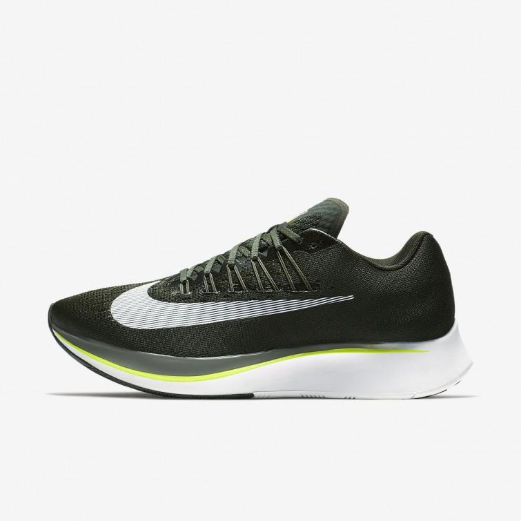6f06e49ed303 Nike Zoom Fly Running Shoes Mens Sequoia Medium Olive Dark Stucco White  880848