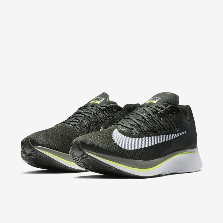 88e384fb5c1 ... Nike Zoom Fly Running Shoes Mens Sequoia Medium Olive Dark Stucco White  880848
