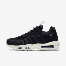 Nike Air Max 95 Casual Schoenen Heren Zwart/Rood AJ1844-002