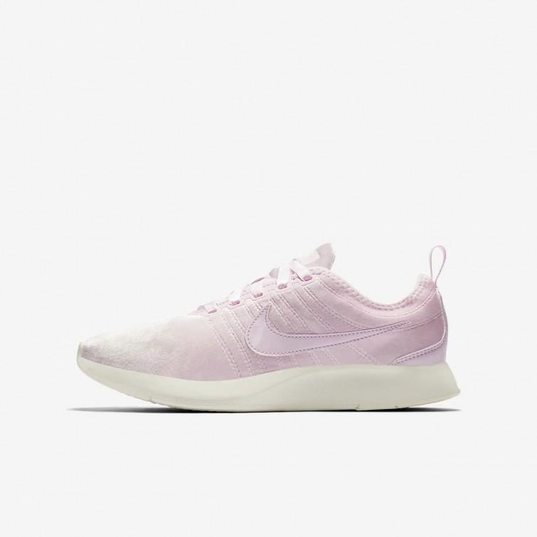 157ce9839d3f2 Nike Dualtone Racer SE Lifestyle Shoes Girls Arctic Pink/Sail 943576-600