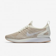 Sapatilhas Casual Nike Air Zoom Mariah Flyknit Racer Mulher Amarelas/Branco AA0521-100