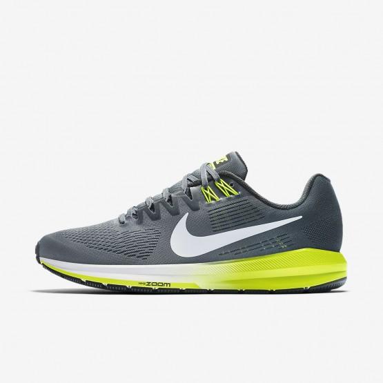 Zapatillas Running Nike Air Zoom Structure 21 Hombre Gris//Blancas 904695-007