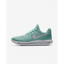 Nike LunarEpic Low Flyknit 2 Running Shoes Womens Hyper Turquoise/Igloo/Clear Jade/Pure Platinum 863780-301