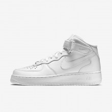 Nike Air Force 1 Mid 07 Lifestyle Shoes Womens White 366731-100