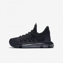 Nike Zoom KDX Basketball Shoes Boys Black/Dark Grey 918365-004