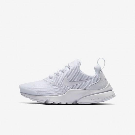 bbba0ffda509 Nike Presto Fly Lifestyle Shoes Boys White 913966-101