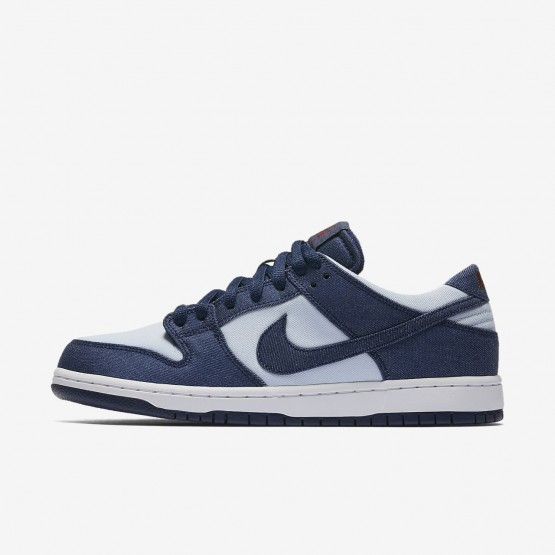 Nike SB Dunk Low Pro Skateboarding Shoes Mens Binary Blue/Hydrogen Blue/Dark Team Red 854866-444