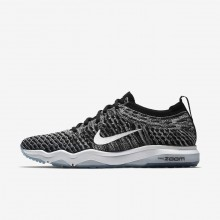 Deportivas Nike Air Zoom Fearless Flyknit Lux Mujer Negras/Gris/Blancas 922872-007