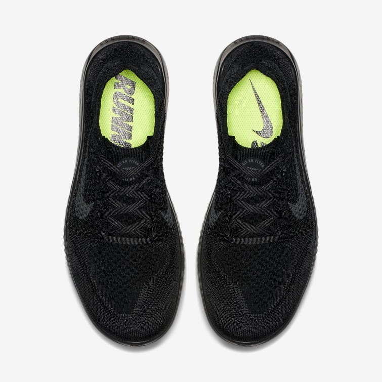 74556c113d6 ... Nike Free RN Flyknit 2018 Running Shoes Womens Black Anthracite 942839-002  ...