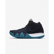 Nike Kyrie 4 Basketball Shoes Mens Dark Obsidian/Black 943806-401