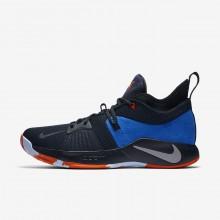 Tenis Basquete Nike PG 2 Homem Obsidiana Escuro/Verdes/Azul Marinho AJ2039-400