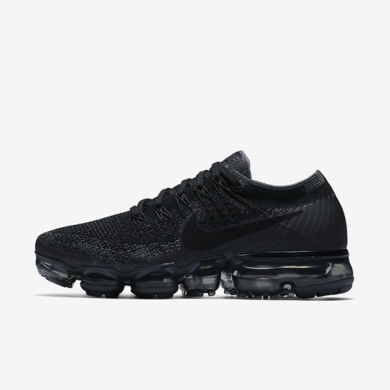 competitive price 428b7 dca02 Chaussure Running Nike Air VaporMax Flyknit Femme Noir/Grise Foncé 849557- 006