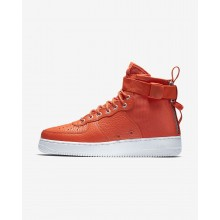 Zapatillas Casual Nike SF Air Force 1 Mid Hombre Naranjas/Negras 917753-800