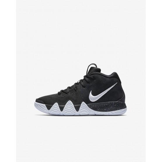 Zapatillas Baloncesto Nike Kyrie 4 Niño Negras/Azules Claro/Blancas AA2897-002