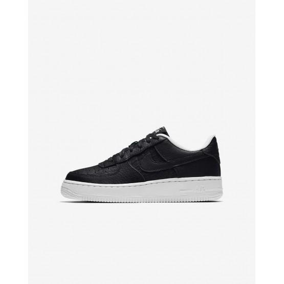 Nike Air Force 1 LV8 Lifestyle Shoes Boys Black/Summit White 820438-012