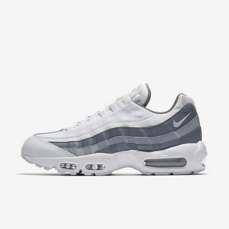 749766 022 Nike Air Max 95 Essential NoirBlanche Grise