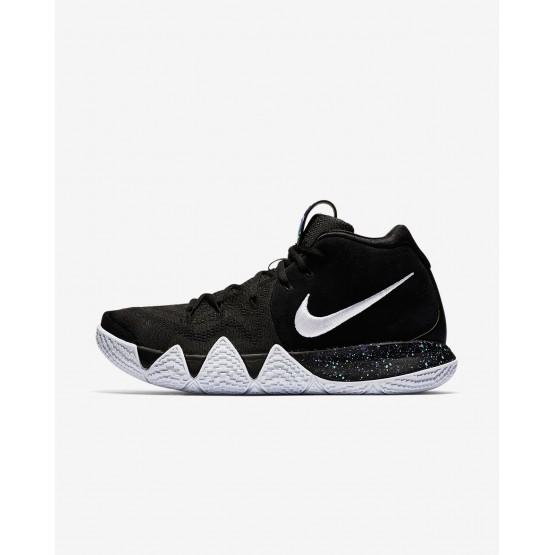 Nike Kyrie 4 Basketball Shoes Mens Black/Anthracite/Light Racer Blue/White 943806-002