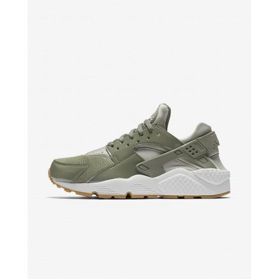 Nike Air Huarache Lifestyle Shoes Womens Dark Stucco/Light Bone/Summit White/Pale Grey 634835-027