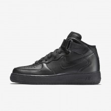 Nike Air Force 1 Mid 07 Casual Schoenen Dames Zwart 366731-001