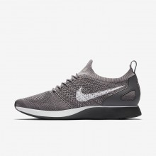 Nike Air Zoom Mariah Flyknit Racer Lifestyle Shoes Mens Gunsmoke/Atmosphere Grey/Dark Grey/White 918264-009