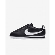 Nike Classic Cortez Lifestyle Shoes Womens Black/White 807471-010