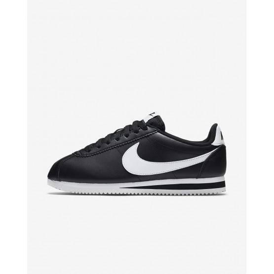 Sapatilhas Casual Nike Classic Cortez Mulher Pretas/Branco 807471-010