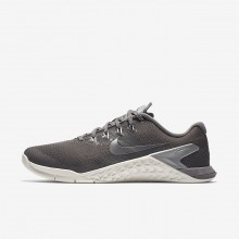 Nike Metcon 4 Training Shoes Womens Gunsmoke/Summit White/Metallic Cool Grey 924593-002