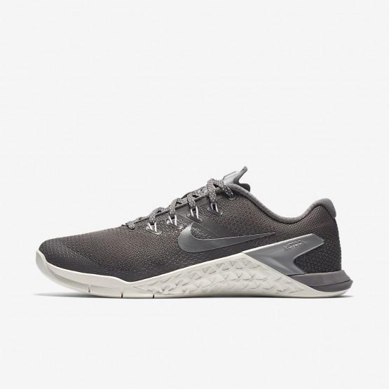Nike Metcon 4 Training Shoes Womens Gunsmoke/Summit White/Metallic Cool Grey 924593-002