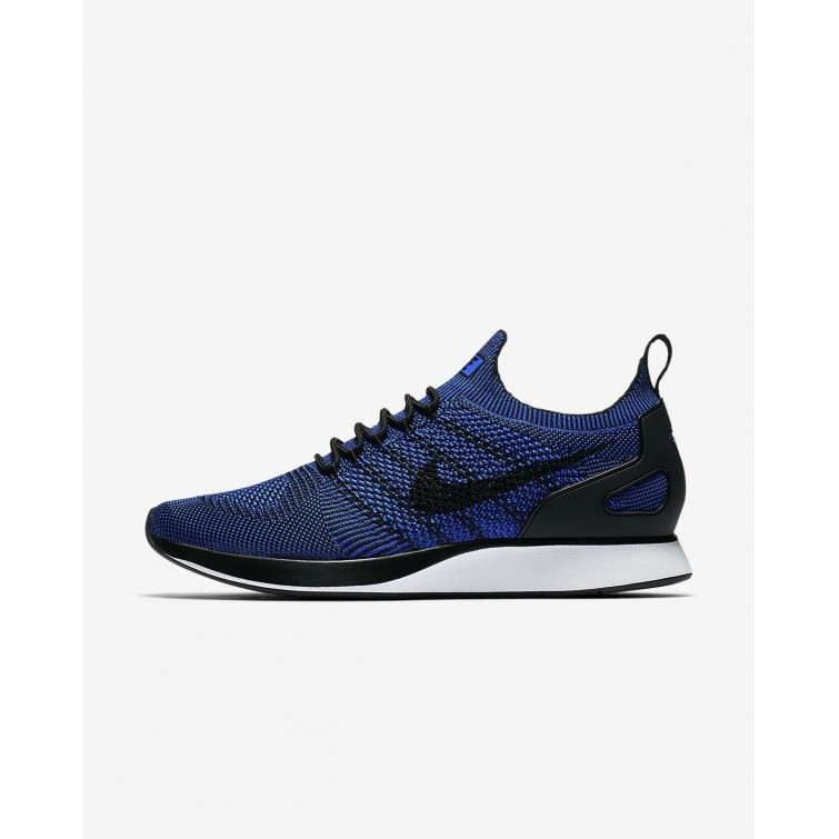 6d162fc2f4d83 Nike Air Zoom Mariah Flyknit Racer Lifestyle Shoes Mens Black White Racer  Blue 918264