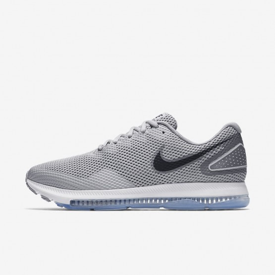 Nike Zoom All Out Low 2 Running Shoes Mens Wolf Grey/Cool Grey/Black AJ0035-005