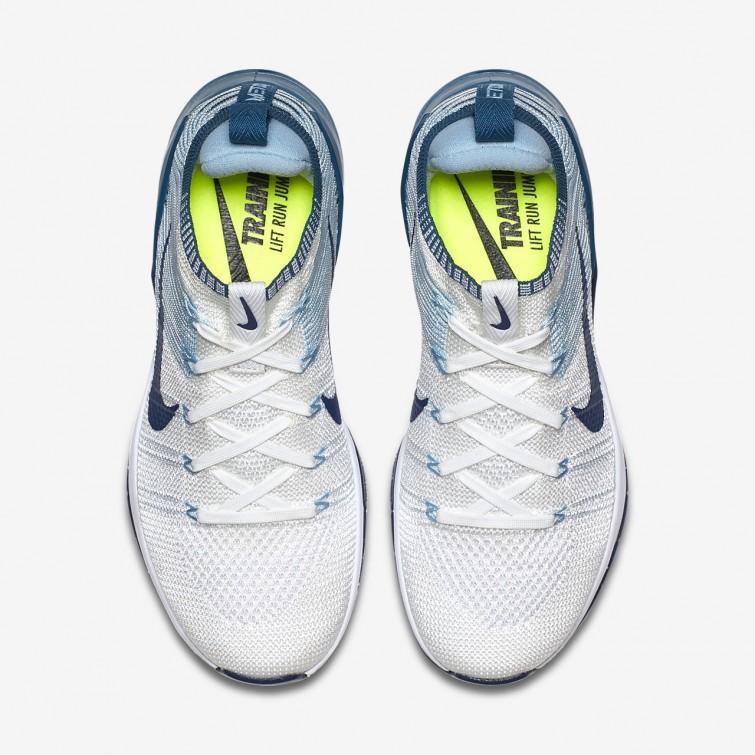 ec061fda84f99 ... Nike Metcon DSX Flyknit 2 Training Shoes Womens White Mica Blue Night  Factor  ...