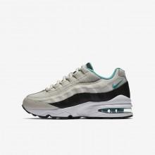 Nike Air Max 95 Casual Schoenen Jongens Licht/Zwart/Wit/Turquoise 905348-012