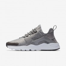 Nike Air Huarache Ultra SE Lifestyle Shoes Womens Dust/Metallic Pewter/Black 859516-009