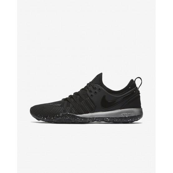 Nike Free TR 7 Selfie Training Shoes Womens Black/Chrome AH5734-001