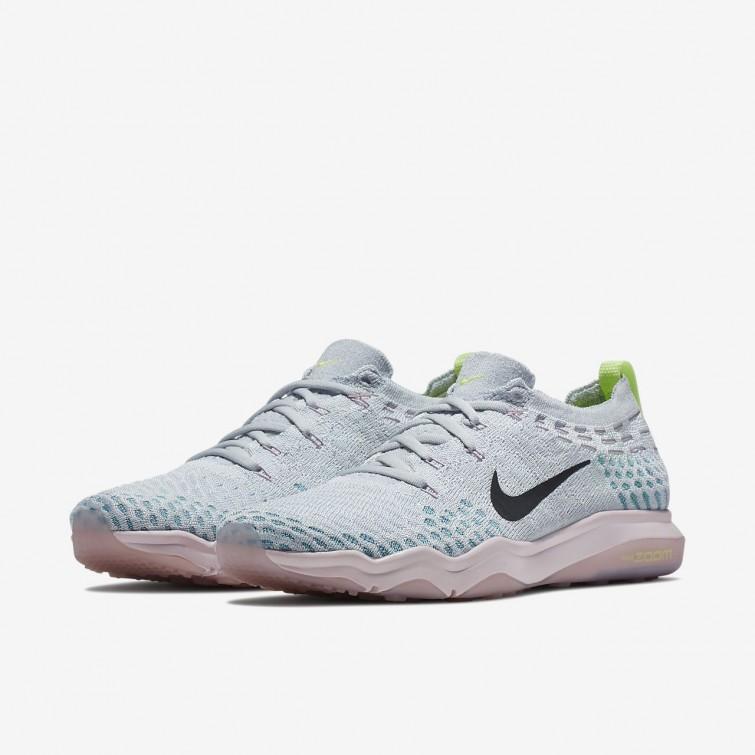 03a8e512e5fbea ... Chaussure De Sport Nike Air Zoom Fearless Flyknit Lux Femme  Platine/Rose/Rose 922872