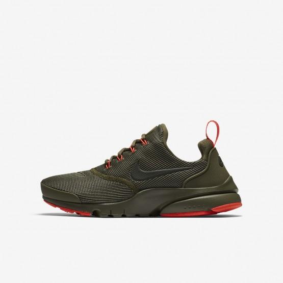 Nike Presto Fly Freizeitschuhe Jungen Olivgrün 913966-203