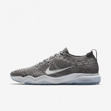 Sapatilhas De Treino Nike Air Zoom Fearless Flyknit Lux Mulher Cinzentas/Branco 922872-005