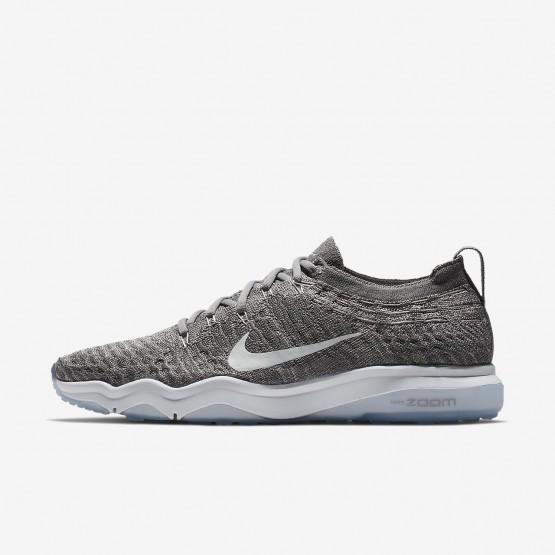 Nike Air Zoom Fearless Flyknit Lux Training Shoes Womens Gunsmoke/Atmosphere Grey/White 922872-005