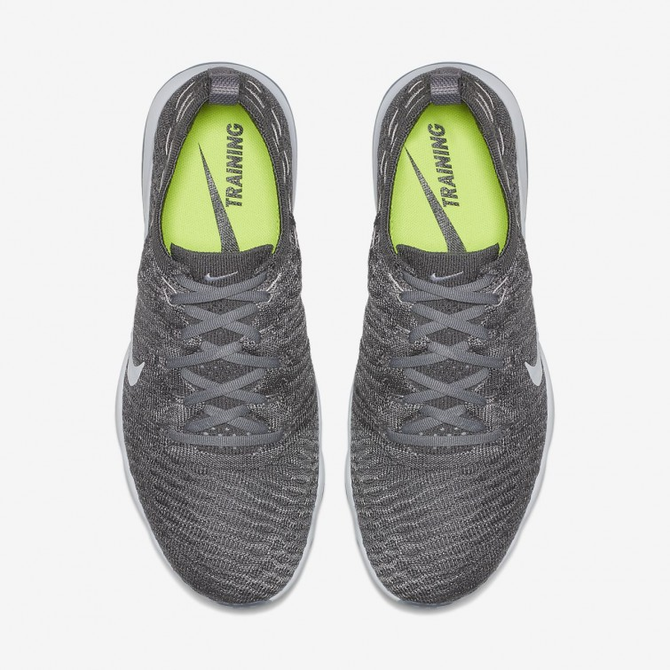d227d8a301a98b ... Chaussure De Sport Nike Air Zoom Fearless Flyknit Lux Femme Grise/ Blanche 922872-005 ...