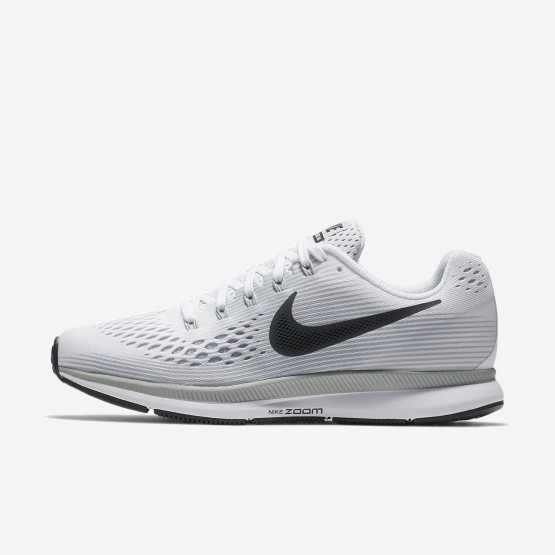 Nike Air Zoom Pegasus 34 Laufschuhe Damen Weiß/Platin/Grau 880560-103