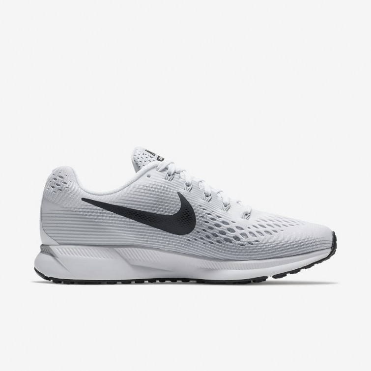 online store 7ea17 65759 ... Nike Air Zoom Pegasus 34 Laufschuhe Damen WeißPlatinGrau 880560-103  ...