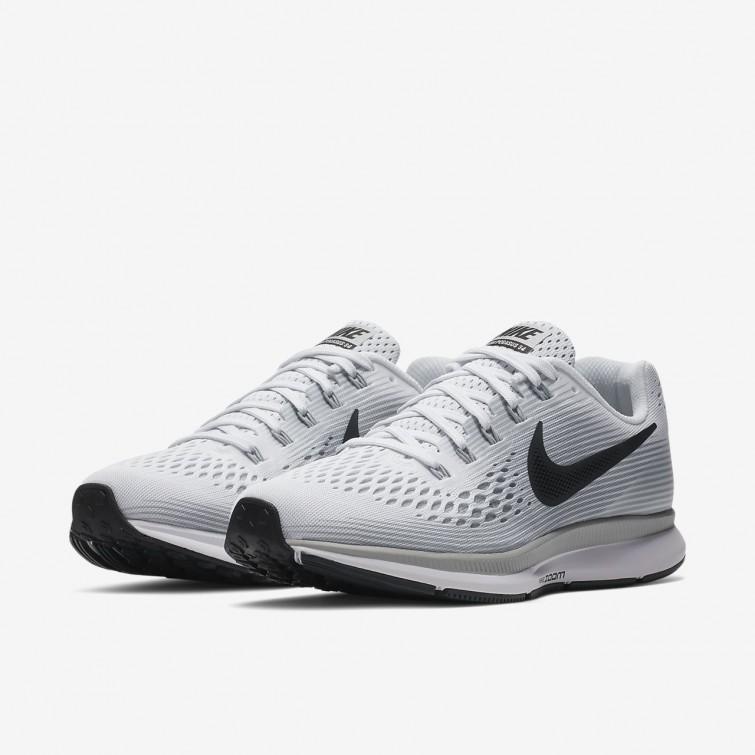 online store 62449 120d6 ... Nike Air Zoom Pegasus 34 Laufschuhe Damen WeißPlatinGrau 880560-103