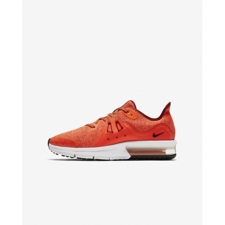 c5022251e5c Sapatilhas Running Nike Air Max Sequent 3 Menino Vermelhas Branco Pretas  922884-600
