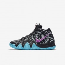 Nike Kyrie 4 AS Basketball Shoes Boys Black/White AO1322-001